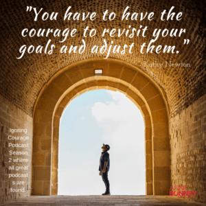 Examine goals and adjust them