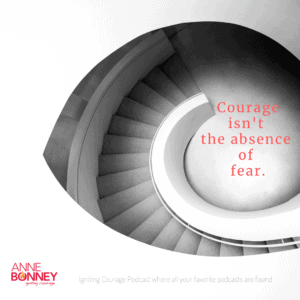 Courage stairway
